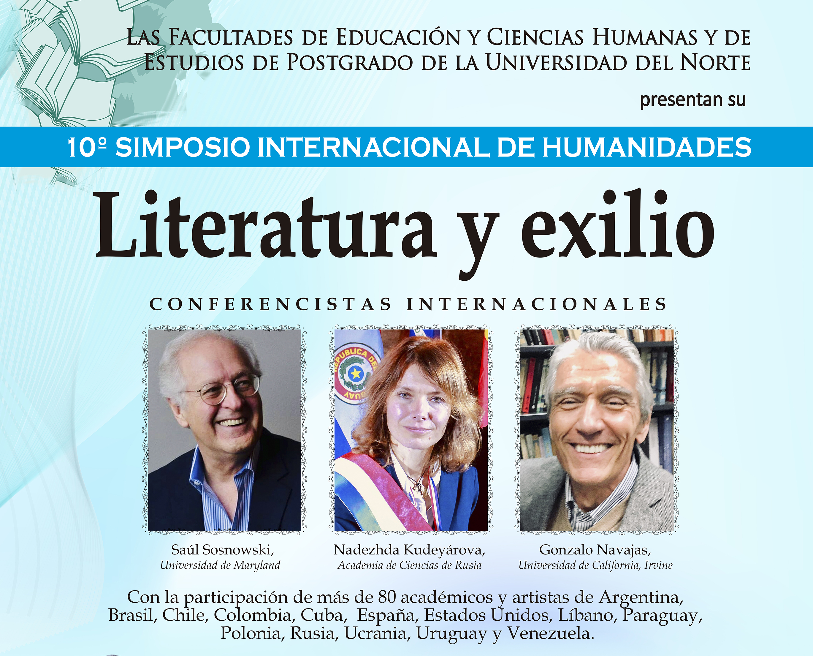 Importante Simposio de Humanidades de la Universidad del Norte sigue con sus conferencias magistrales
